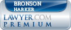 Bronson P Harker  Lawyer Badge
