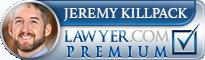 Jeremy W. Killpack  Lawyer Badge