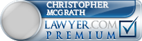 Christopher Mcgrath  Lawyer Badge