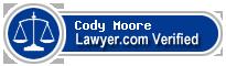Cody Redmond Moore  Lawyer Badge