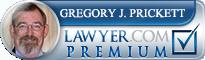 Gregory J. Prickett  Lawyer Badge