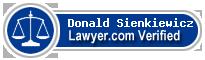 Donald H. Sienkiewicz  Lawyer Badge