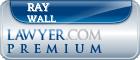 Ray Wall  Lawyer Badge