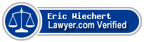 Eric M Wiechert  Lawyer Badge