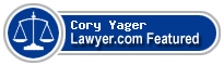 Cory Yager  Lawyer Badge