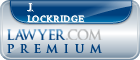 J. Eric Lockridge  Lawyer Badge