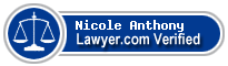 Nicole Buggs Anthony  Lawyer Badge