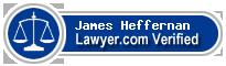 James Heffernan  Lawyer Badge