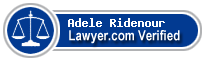 Adele J Ridenour  Lawyer Badge