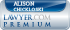 Alison Chickloski  Lawyer Badge