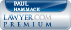 Paul E Hammack  Lawyer Badge