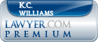 K.C. Williams  Lawyer Badge