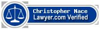 Christopher Nace  Lawyer Badge