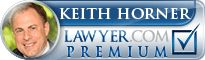 Keith M Horner  Lawyer Badge