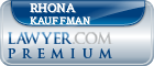 Rhona S. Kauffman  Lawyer Badge
