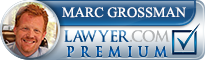 Marc Grossman  Lawyer Badge