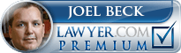 Joel Beck  Lawyer Badge