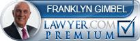 Franklyn M. Gimbel  Lawyer Badge
