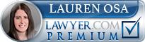 Lauren Osa  Lawyer Badge