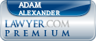 Adam Alexander  Lawyer Badge