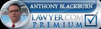 Anthony Blackburn  Lawyer Badge