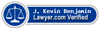 J. Kevin Benjamin  Lawyer Badge