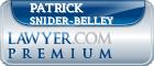 Patrick Snider-Belley  Lawyer Badge