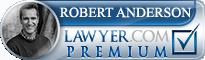 Robert Anderson  Lawyer Badge