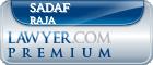 Sadaf Raja  Lawyer Badge