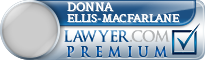 Donna Marlene Ellis-Macfarlane  Lawyer Badge