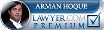 Arman E. Hoque  Lawyer Badge