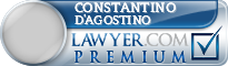 Constantino Giovanni D'Agostino  Lawyer Badge