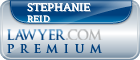 Stephanie Allison Harris Reid  Lawyer Badge