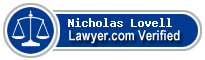 Nicholas Andrew Garret Lovell  Lawyer Badge