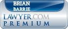 Brian Douglas Barrie  Lawyer Badge