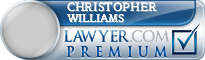 Christopher Lawrence Donald Williams  Lawyer Badge