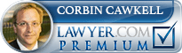 Corbin Francis Cawkell  Lawyer Badge