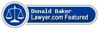 Donald Sumner Baker  Lawyer Badge