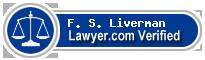 F S Liverman  Lawyer Badge