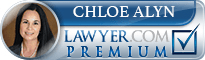 Chloe Alyn  Lawyer Badge