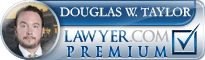 Douglas W. Taylor  Lawyer Badge
