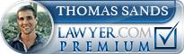 Thomas D. Sands  Lawyer Badge