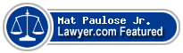 Mat Paulose Jr.  Lawyer Badge