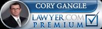 Cory Gangle  Lawyer Badge