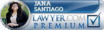Jana Santiago  Lawyer Badge