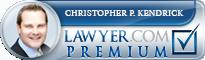 Christopher Paul Kendrick  Lawyer Badge