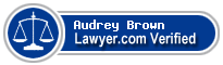 Audrey R Brown  Lawyer Badge