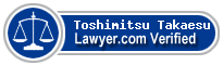 Toshimitsu Takaesu  Lawyer Badge