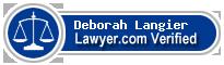 Deborah Anne Langier  Lawyer Badge