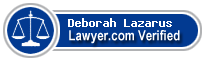 Deborah Lazarus  Lawyer Badge